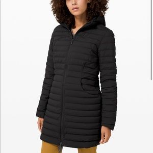 Lululemon Black Pack It Down Jacket *Long NWT